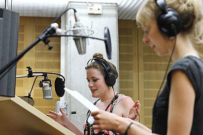 Voice and music recording studio