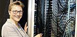 Rechner sind ihre Leidenschaft: Prof. Dr. Gudrun Oevel hat im Rahmen des Treffens über die Bedeutung der Digitalisierung für die Universitäten gesprochen.